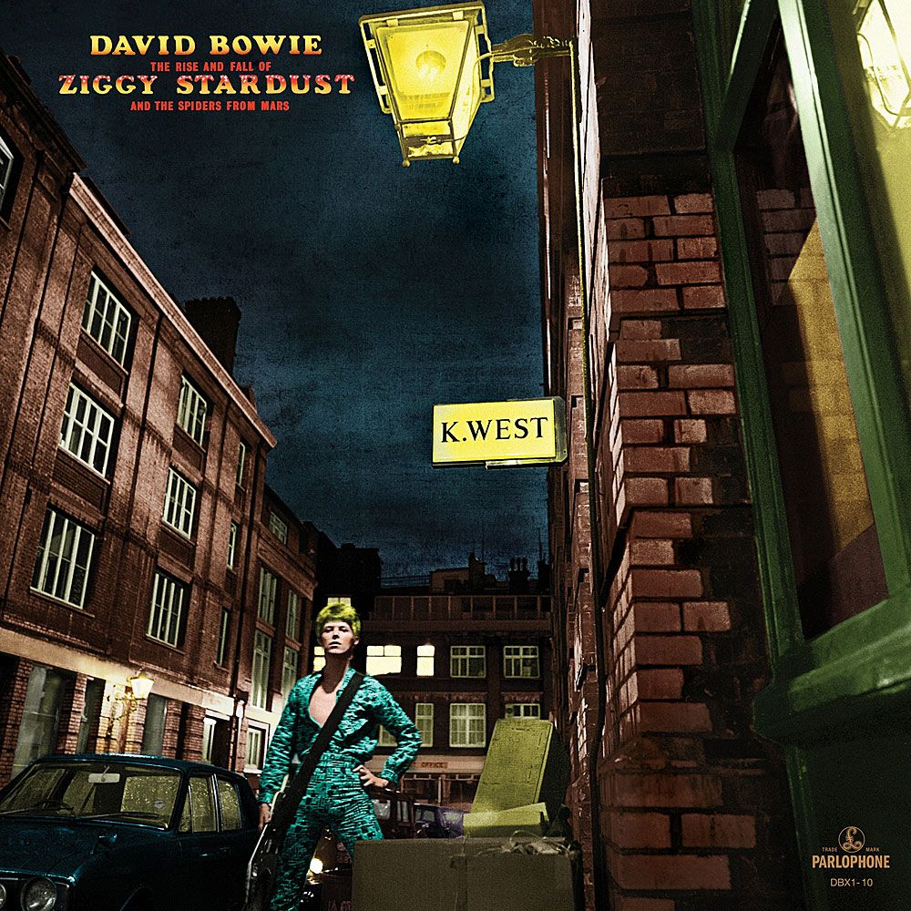 THE RISE AND FALL OF ZIGGY STARDUST AND THE SPIDERS FROM MARS(LP