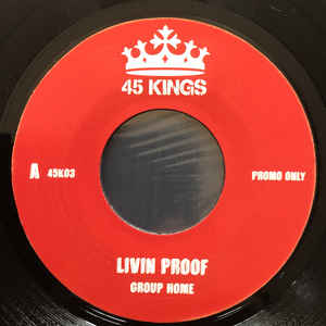 LIVIN' PROOF / SUPA STAR (7inch) -pre-order-