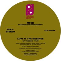 LOVE IS THE MESSAGE (feat.THE THREE DEGREES)