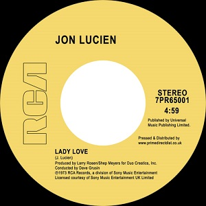 LADY LOVE / LOVE EVERLASTING (7 inch)