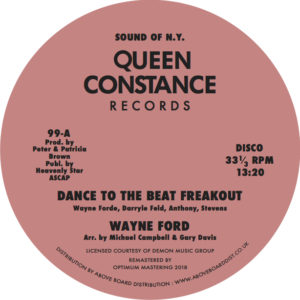 b150be8c6 DANCE TO THE MUSIC FREAKOUT [99] - WAYNE FORDE - QUEEN CONSTANCE(UK ...