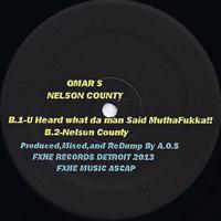NELSON COUNTY [AOS-123] - OMAR-S - FXHE(US) - STRADA RECORDS