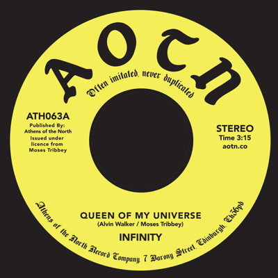 QUEEN OF MY UNIVERSE (7 inch)