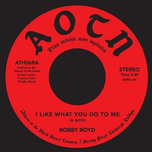 I LIKE WHAT YOU DO TO ME (7 inch)