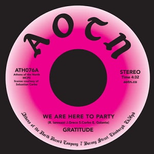 WE ARE HERE TO PARTY (7 inch)