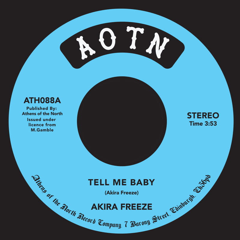 TELL ME BABY (7 inch)