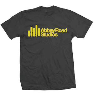 ABBEY ROAD STUDIOS OFFICIAL T-SHIRTS:Logo/Black/M