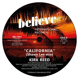 CALIFORNIA (inc. SHAWN LEE MIX) (7 inch)