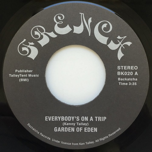 EVERYBODY'S ON A TRIP (7inch)