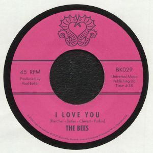 I LOVE YOU (7inch) -pre-order-