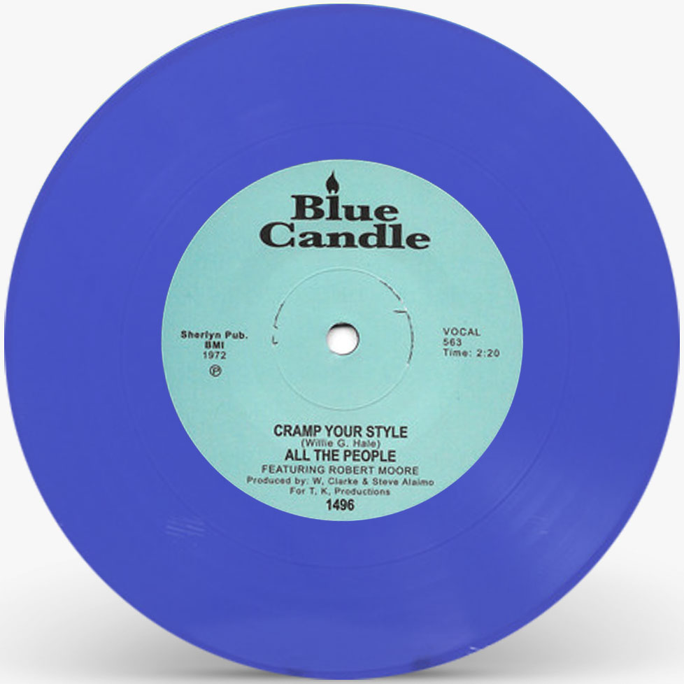 CRAMP YOUR STYLE (BLUE VINYL REPRESS) (7 inch)