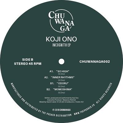 8a1d3b5df244 INCOGNITO EP [CHUWANAGA002] - KOJI ONO - CHUWANAGA (FR) - STRADA ...