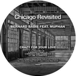 CRAZY FOR YOUR LOVE FT MUPHAN (INCL. BERARDS REMIX)