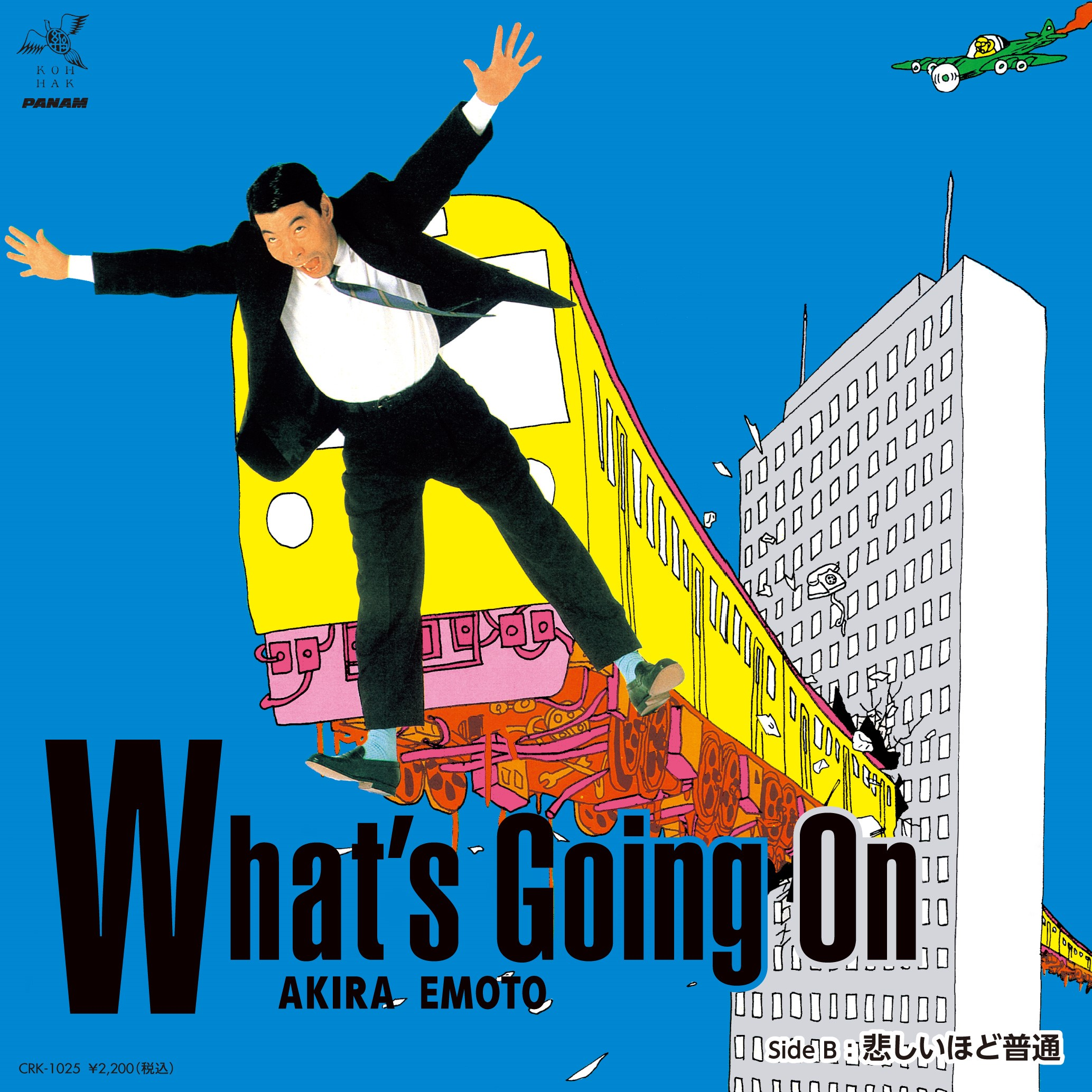 WHAT'S GOING ON/KANASHIHODO FUTSU (7 inch) -RSD LIMITED-