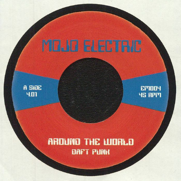 AROUND THE WORLD / DA FUNK (7 inch)