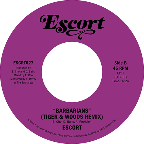ANIMAL NATURE B/W BARBARIANS (TIGER & WOODS REMIX) (7inch) -pre-