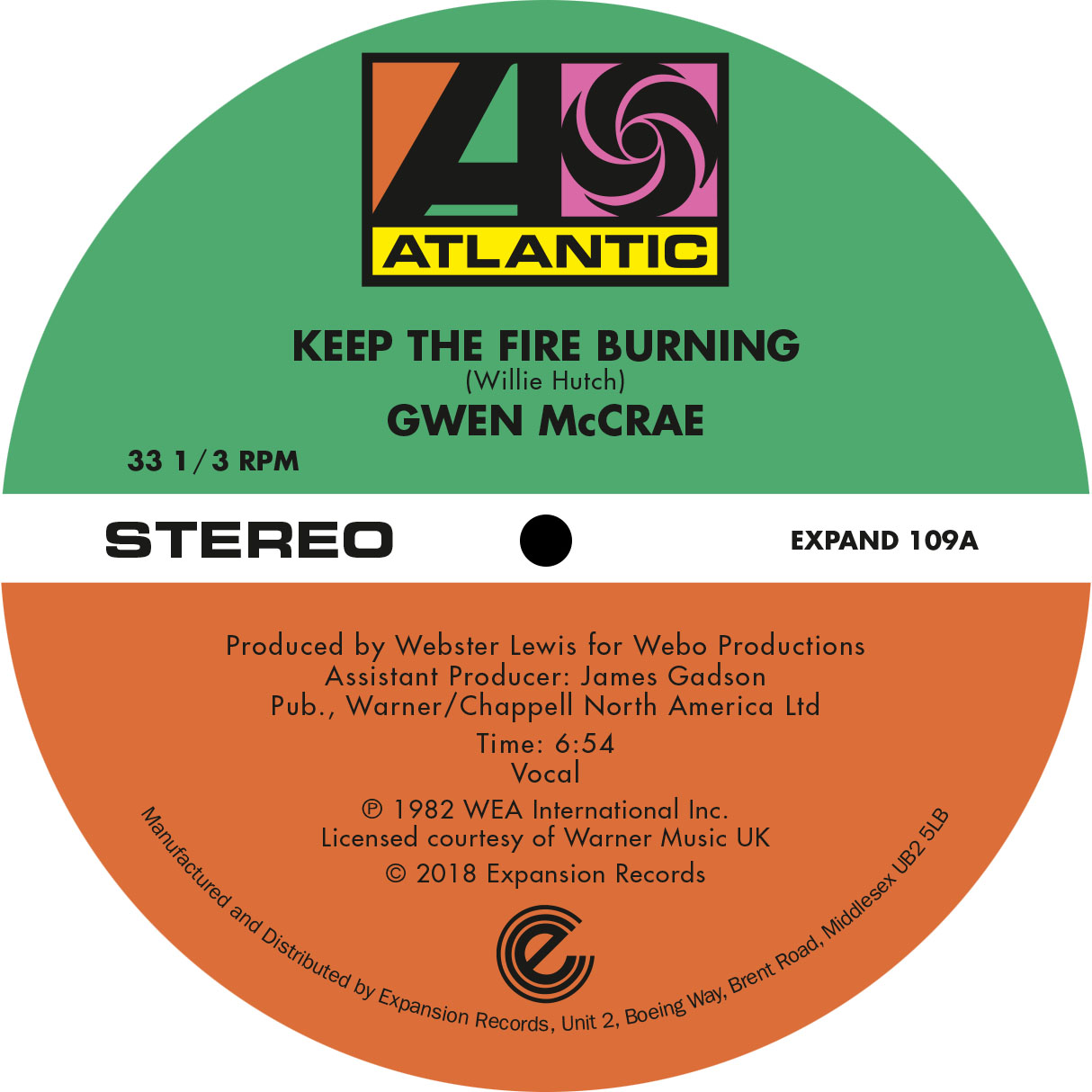 KEEP THE FIRE BURNING / FUNKY SENSATION
