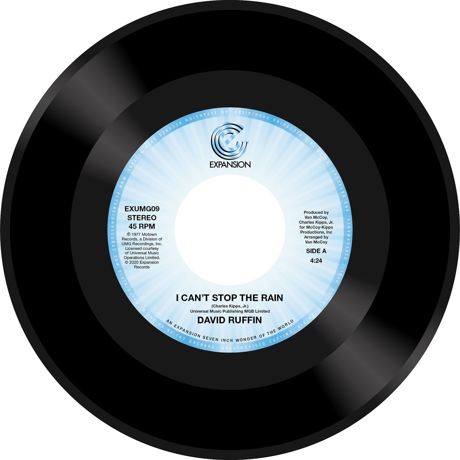 I CAN'T STOP THE RAIN (7inch) -pre-order-