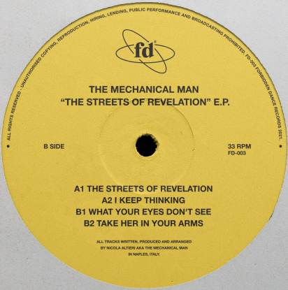 THE STREETS OF REVELATION EP -pre-order-