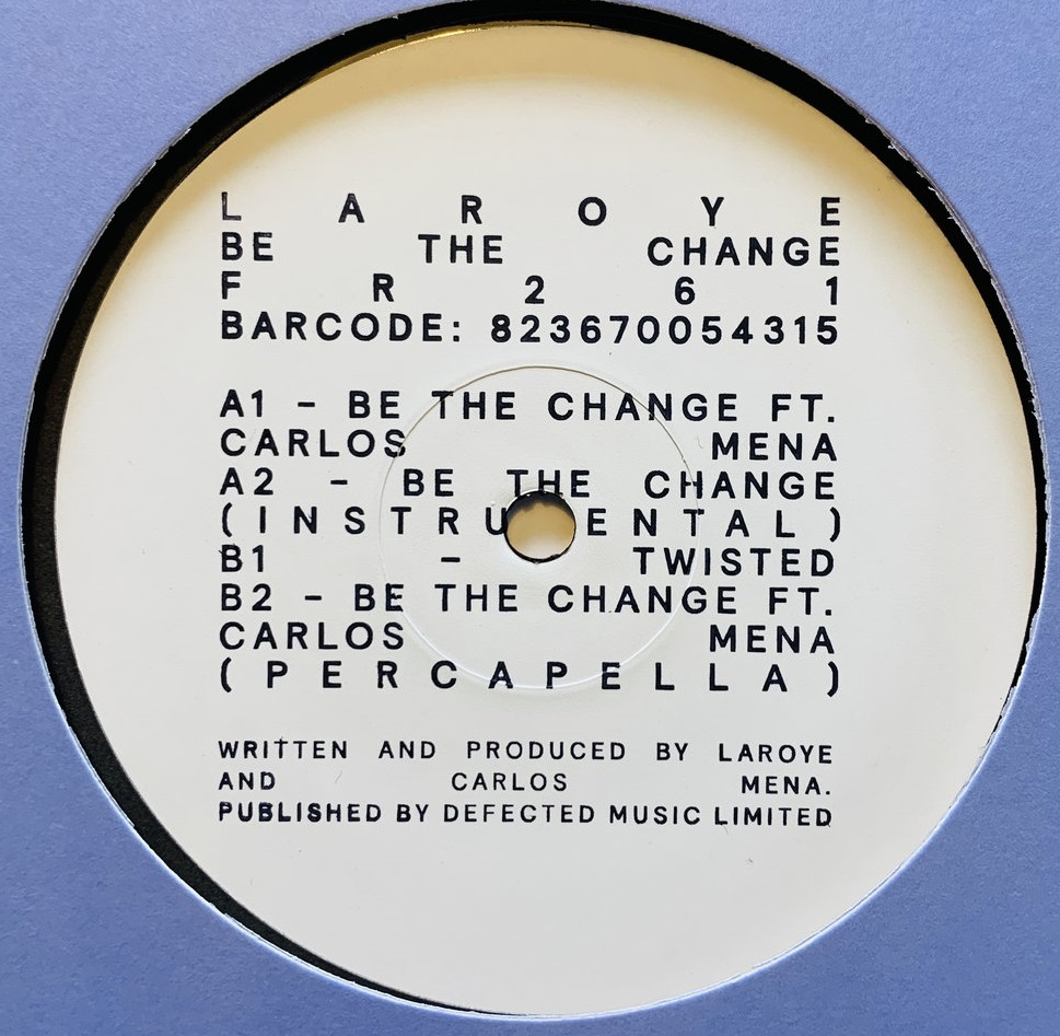 BE THE CHANGE EP