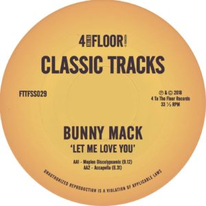 LET ME LOVE YOU (DJ GREGORY & MOPLEN REMIXES)
