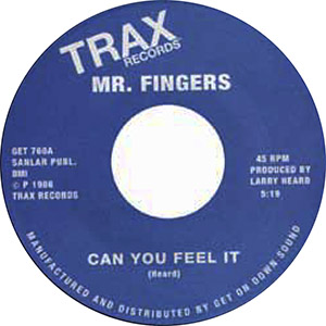 CAN YOU FEEL IT / WASHING MACHINE (7 inch)