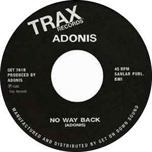 NO WAY BACK (VOCAL) / NO WAY BACK (7 inch)