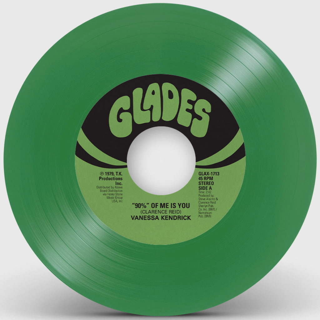 90% OF ME IS YOU (GREEN VINYL REPRESS) (7inch) -pre-order-