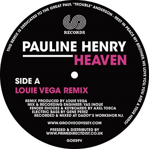 HEAVEN - LOUIE VEGA / DJ SPEN & REEL SOUL REMIXES