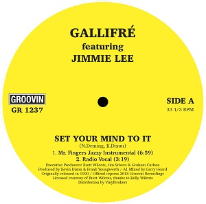 SET YOUR MIND TO IT (feat.JIMMIE LEE)