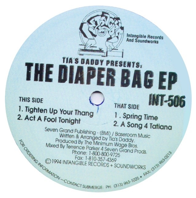 THE DIAPER BAG EP -pre-order-