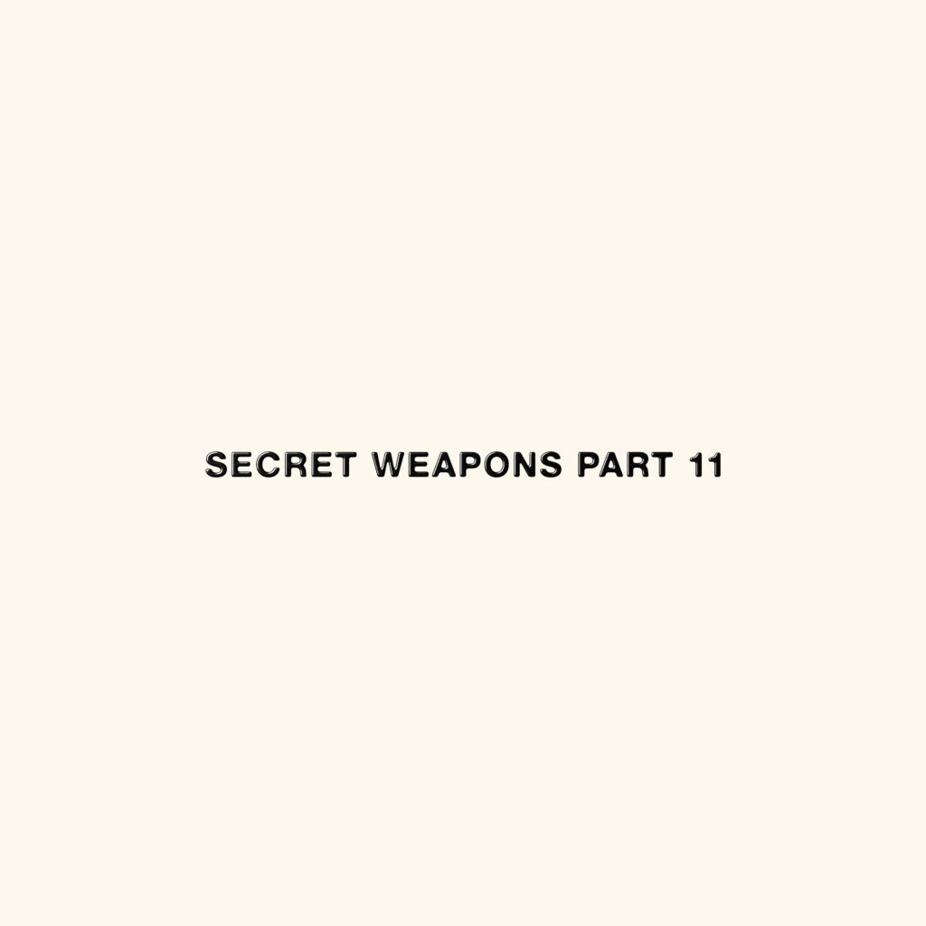 SECRET WEAPONS 11 (4LP) -pre-order-