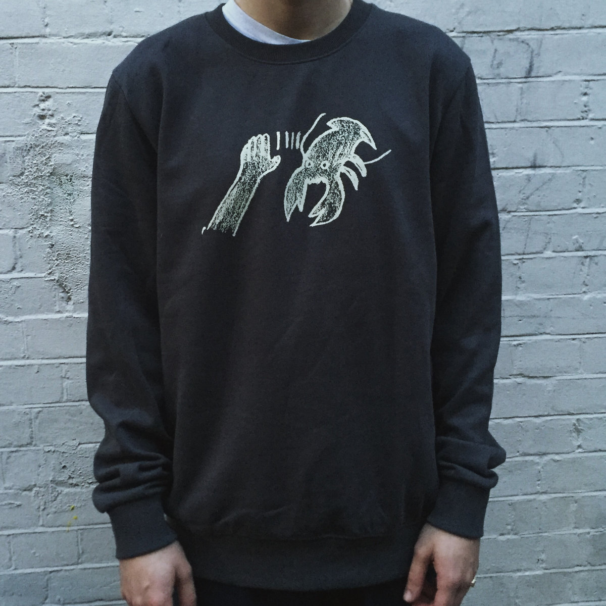 LOBSTER THEREMIN SWEAT-SHIRTS (VINTAGE GREY/Size:L)