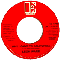 WHY I CAME TO CALIFORNIA (7 inch)