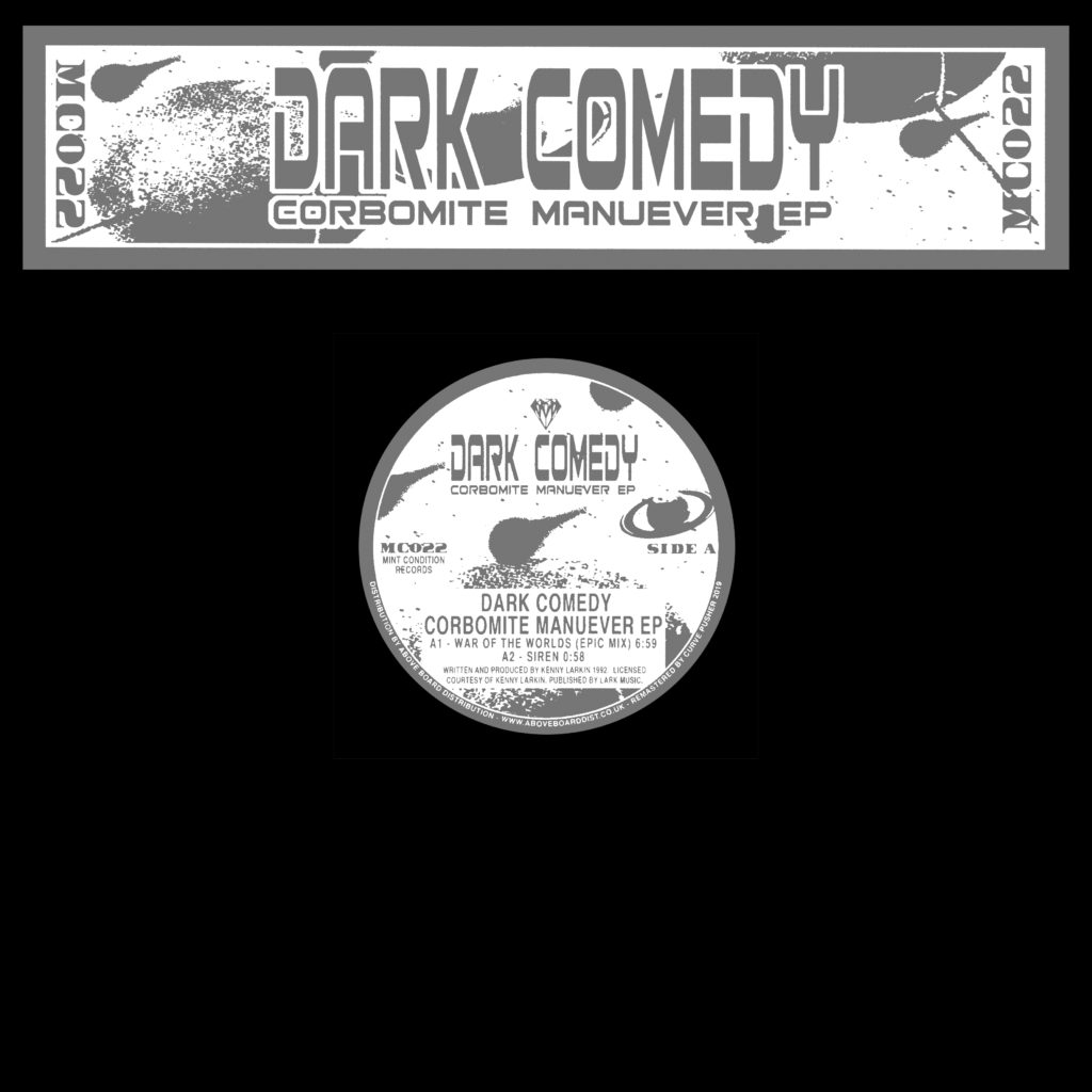 CORBOMITE MANUEVER EP (CLEAR VINYL REPRESS) (W-PACK) -pre-order-