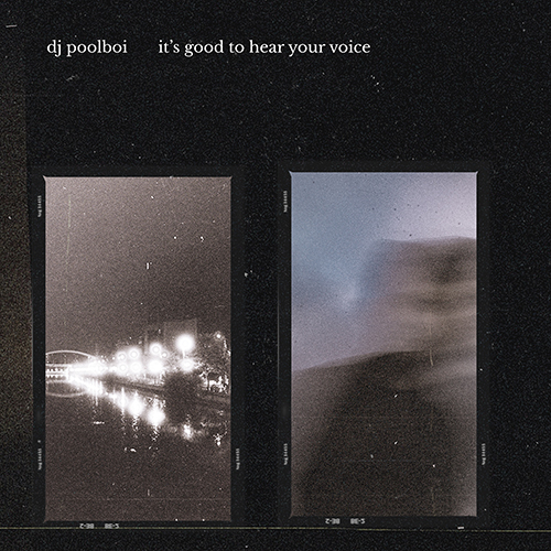 IT'S GOOD TO HEAR YOUR VOICE (LP)