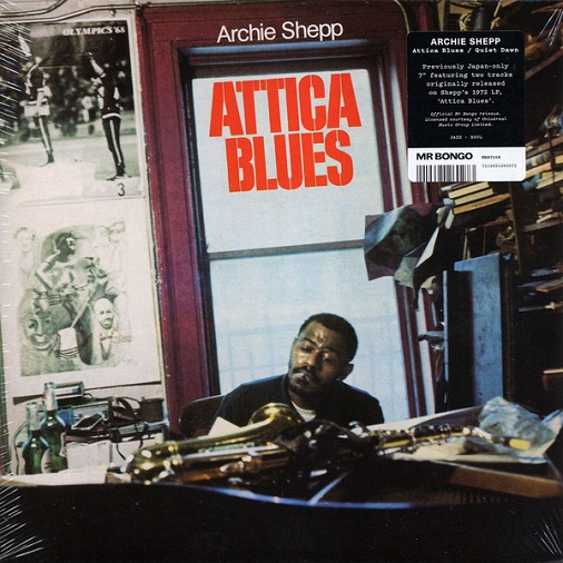 ATTICA BLUES / QUIET DAWN (7 inch)