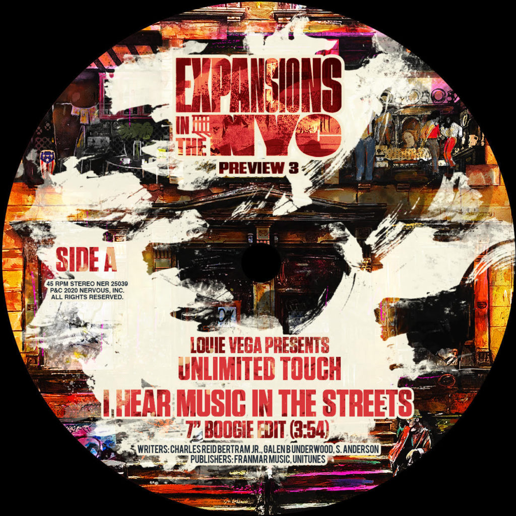 I HEAR MUSIC IN THE STREETS (FEAT.UNLIMITED TOUCH) (7inch) -pre-