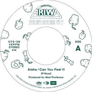 CAN YOU FEEL IT (7 inch) [OTS139] - AISHA - ARIWA (JPN