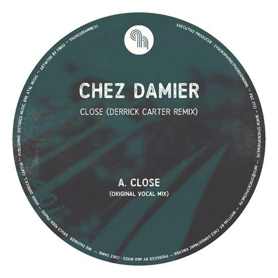 CLOSE DERRICK CARTER REMIX -pre-order-