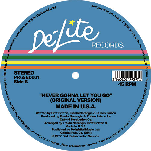 NEVER GONNA TO LET YOU GO (THEO PARRISH UGLY EDIT)