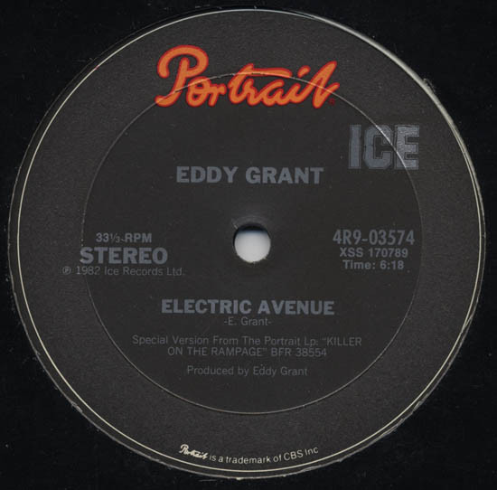 ELECTRIC AVENUE / TIME WARP (USED)