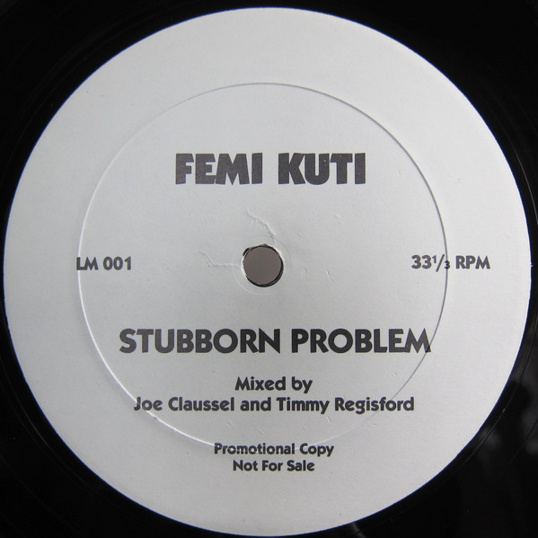 STUBBORN PROBLEM (JOE CLAUSSELL, TIMMY REGISFORD MIX) (USED)