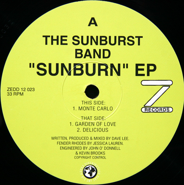 SUNBURN EP (USED)