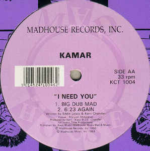 I NEED YOU prod.KERRI CHANDLER (USED)