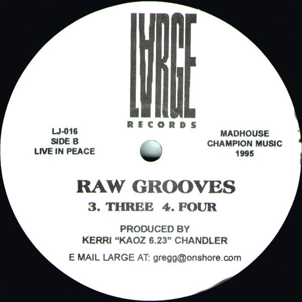 RAW GROOVES (USED)