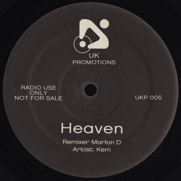 HEAVEN (MARLON D REMIX) (USED)