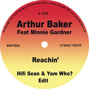 REACHIN' (feat. MINNIE GARDNER) (7 inch)