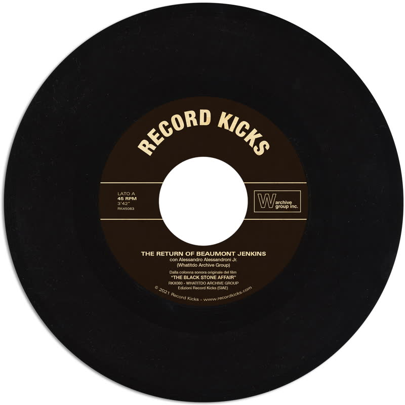 THE RETURN OF BEAUMONT JENKINS / LA PIETRA (7inch) -pre-order-