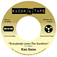 EVERYBODY LOVES THE SUNSHINE / MUSIC OVERFLOW (7 inch)